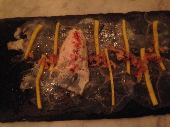 switch restofood: Carpaccio de lotte