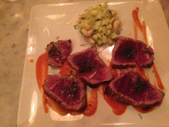 switch restofood: Mi cuit de thon