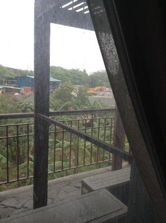 Manila Airport Hotel: вид из окна