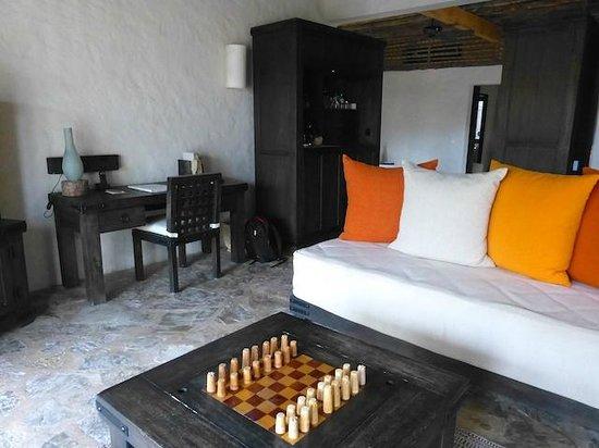 Six Senses Zighy Bay: Lounge