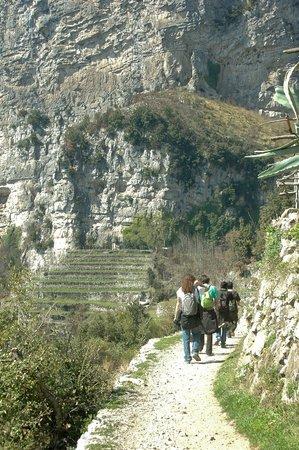 Sentiero degli dei (Path of the Gods): Si parte..