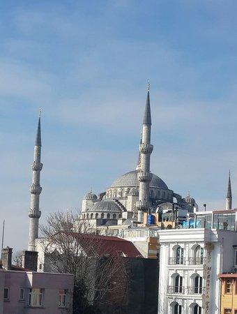The Byzantium Hotel & Suites: terrace view