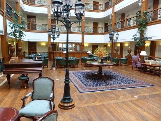 The Oberoi Cecil, Shimla: Atrium of Oberoi Cecil
