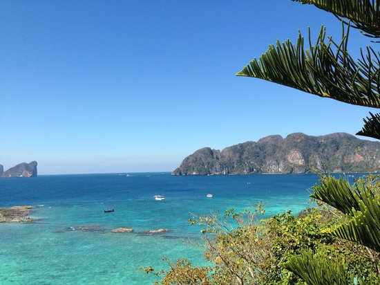 Phi Phi Hill Resort: View from restaunrant's Terrance