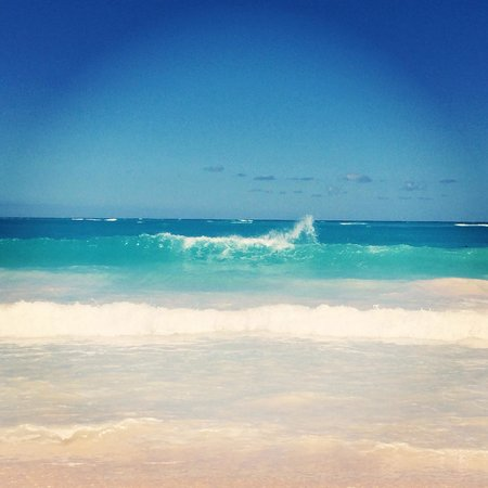 The Reserve at Paradisus Punta Cana: Waves (not the calmest of beaches)