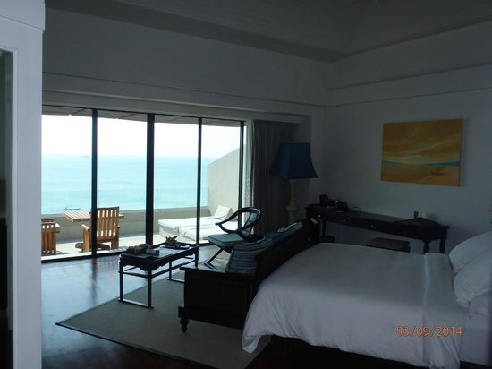 InterContinental Samui Baan Taling Ngam Resort: Room 105: view of a deluxe sea-view room