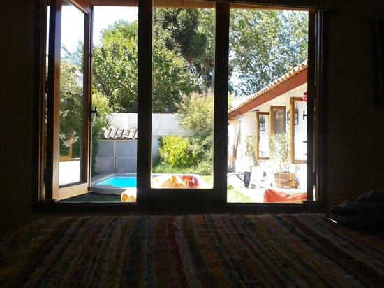 Hotel Tierra & Vino: vista desde la habitacion
