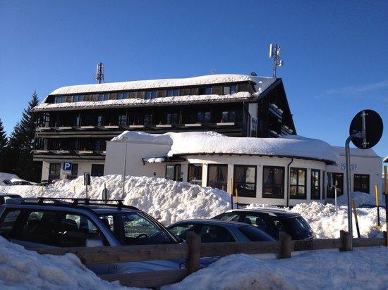Dolomiti Chalet Family Hotel: Vista diurna