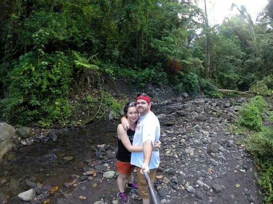 Arenal Observatory Lodge & Spa: Bottom of the lava flow trail