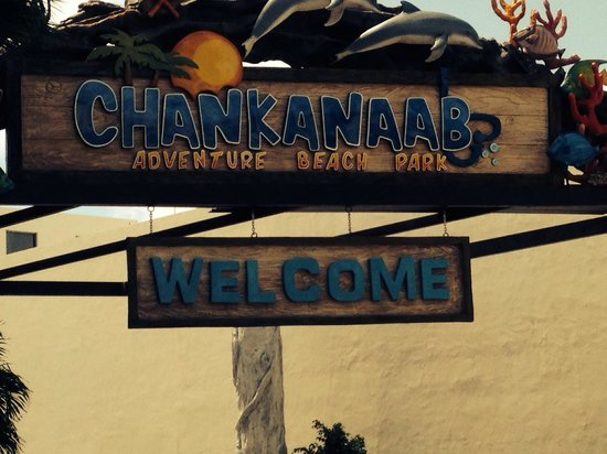 Chankanaab Beach Adventure Park: Sign
