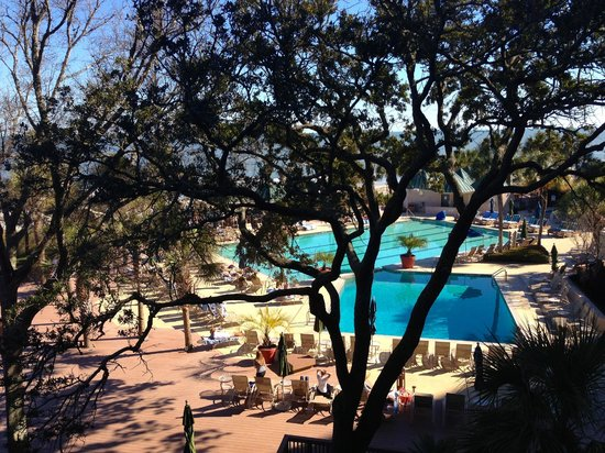 Hilton Head Marriott Resort & Spa: View from Room 326