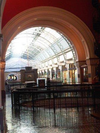 Queen Victoria Building (QVB): inside the QVB
