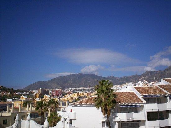 Las Arenas Hotel : mountain view