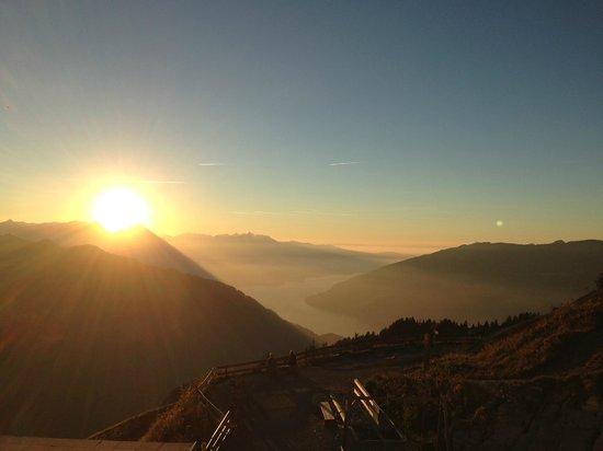 Schynige Platte : Sonnenuntergang