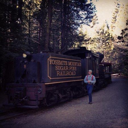 Yosemite Mountain Sugar Pine Railroad : Sugar Pine Rail Road Steam Train
