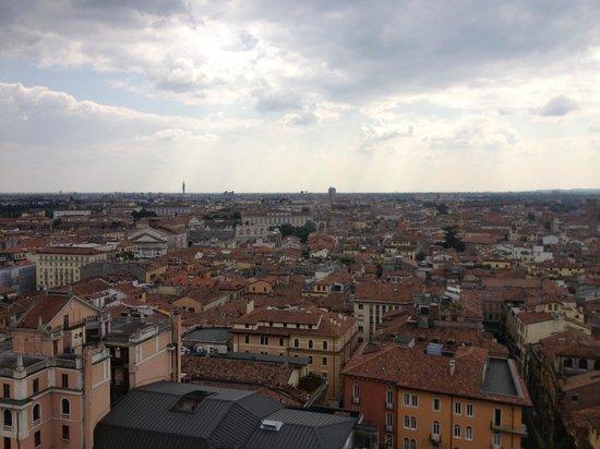 Torre dei Lamberti: Вид сверху