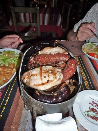 El Ceibo : amazing mixed grill