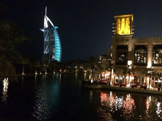 Jumeirah Dar Al Masyaf at Madinat Jumeirah : fairytale at night
