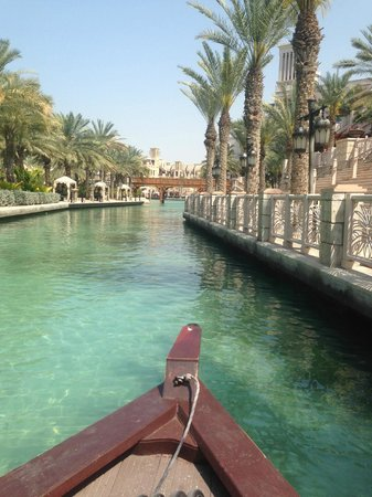 Jumeirah Dar Al Masyaf at Madinat Jumeirah : transportation by boat