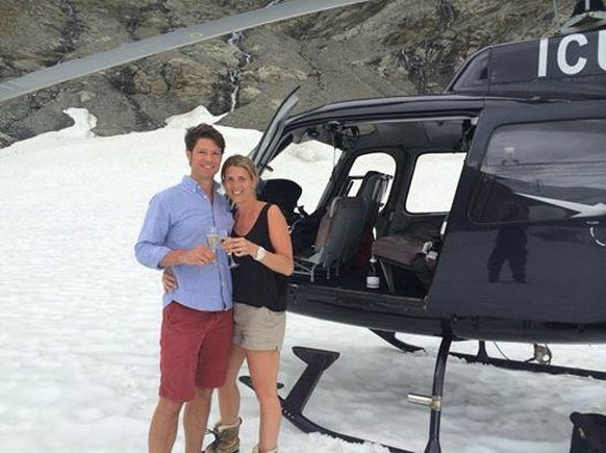 Over The Top - The Helicopter Company - Tours: She said yes....