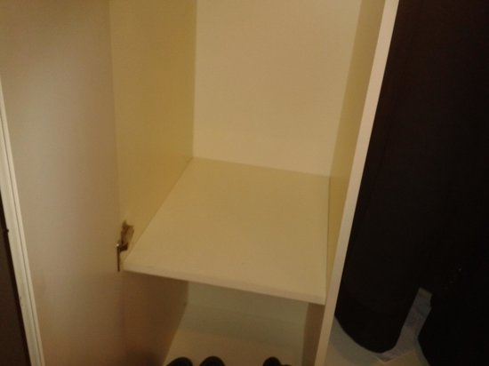 Ottoman Palace Taksim Square Hotel: The safety box (... now you don't...)