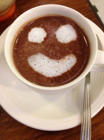 Il Guelfo Bianco: Smiley hot chocolate