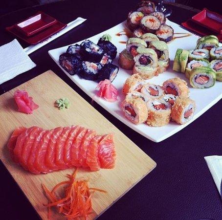 Zabo: Sashimi - Mulato Roll - Mirinda Roll