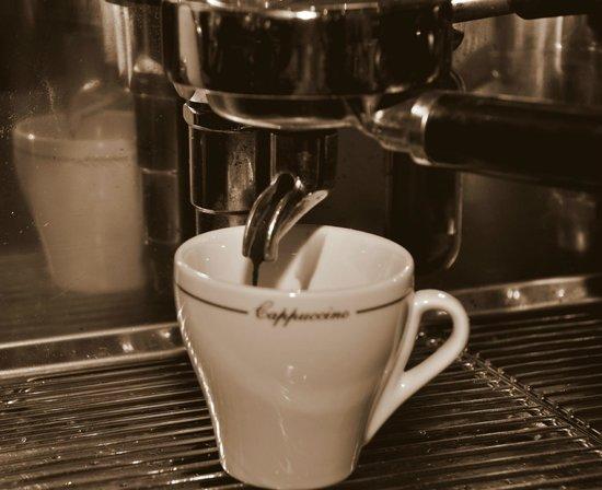 Restaurant Trebbiano: Café de bonne qualité / Good quality coffee