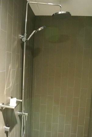 Rydges Sydney Airport Hotel: Rain and adjustable shower heads
