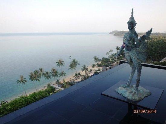 InterContinental Samui Baan Taling Ngam Resort: View from main lobby