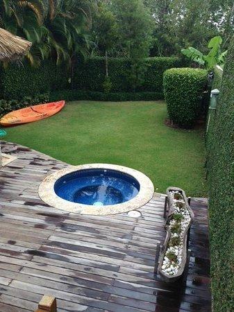 Casa de Campo Resort & Villas : Jardín de una de las villas