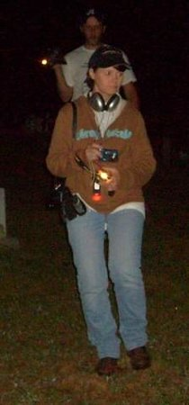 East TN Ghost Tours - Paranormal Technology : Kathy