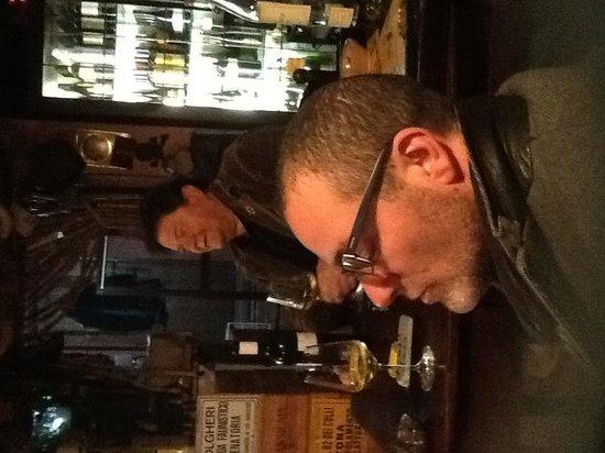 Locanda del Principato: Chef Riccardo and myself!