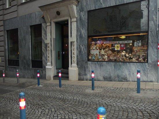 Hotel Das Tyrol: Фасад