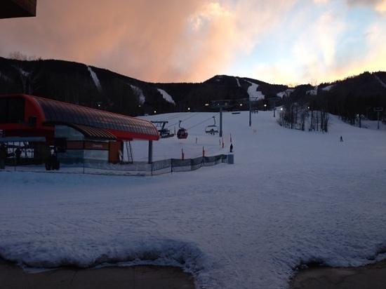 Sunday River Ski Resort: South Ridge Lodge at dawn