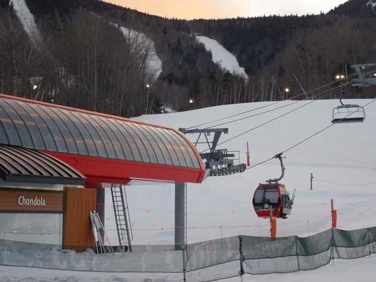 Sunday River Ski Resort : Chondola