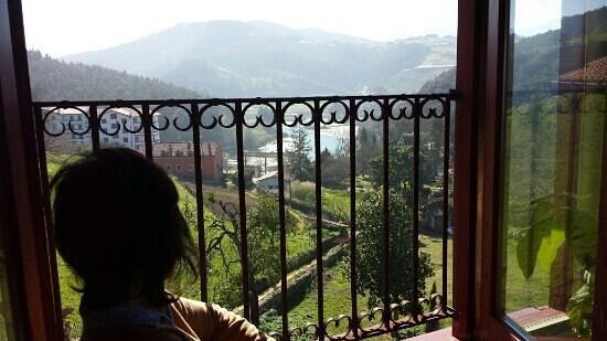 Hotel Villa Itsaso: vista sur