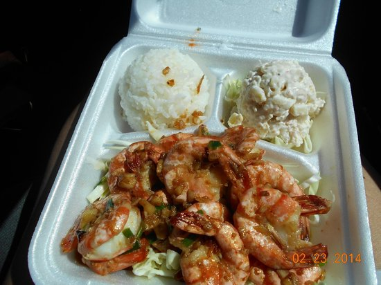 Kauhale Makai, Village by the Sea : Shrimp from the Truck
