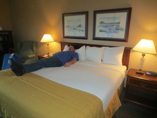 Quality Inn & Suites Seabrook Nasa Kemah: bed