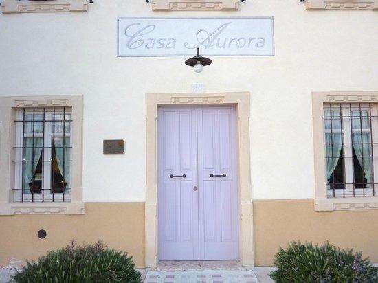 Agriturismo Casa Aurora: L'ingresso