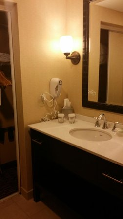 Homewood Suites Tampa Brandon: Bathroom is roomy and updated