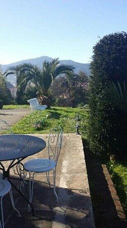 Hotel Villa Itsaso: banquito