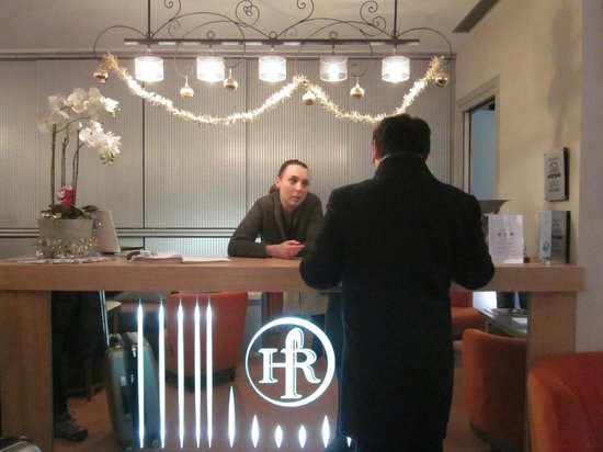 Hotel Residence Foch : Reception