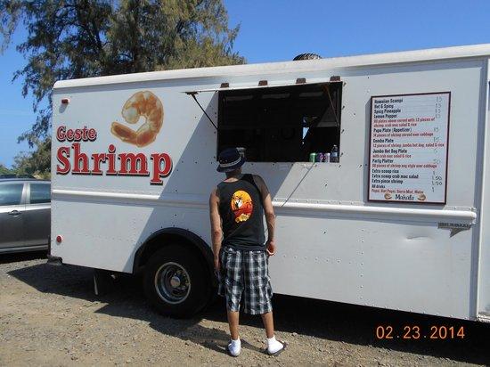 Kauhale Makai, Village by the Sea : Gestes Shrimp Truck