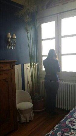 Hotel Villa Itsaso: ventana