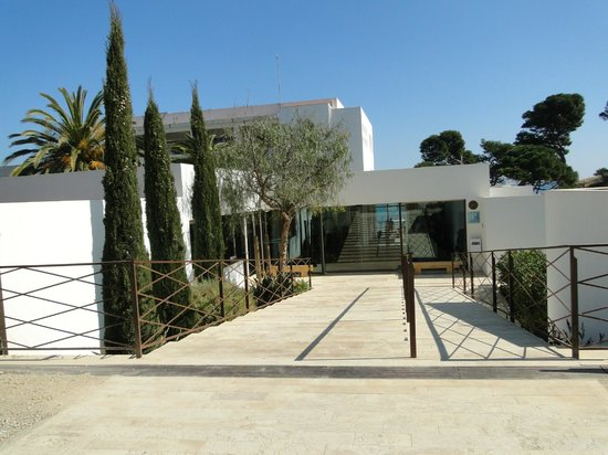 Hostal Spa Empuries: Entrada al Hotel
