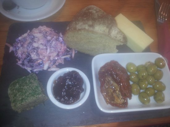 The Curious Table : The wonderful platter i had...