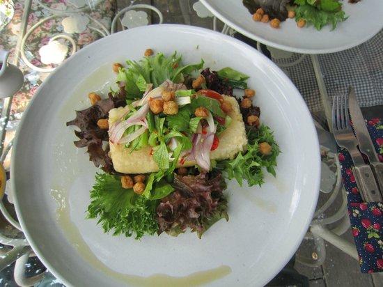 Chivit Thamma Da Coffee House, Bistro & Bar : Spicy Tofu Steak