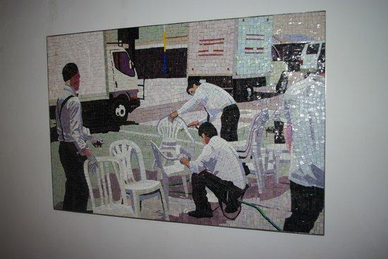 Art Centre Silkeborg Bad: Erik A Frandsen Mosaik