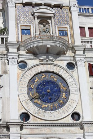 Torre dell'Orologio : orologio astronomico
